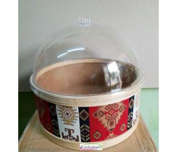 Şeffaf Kapak Çapı 40 cm Mika