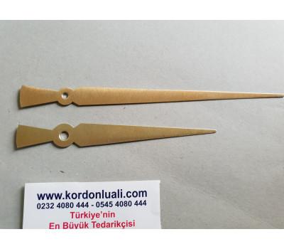 Akrep 13 cm Yelkovan 18 cm Metal Gold 100 Adet