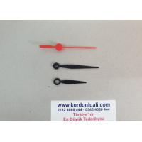 Akrep 4.4 cm Yelkovan 6 cm Plastik Siyah