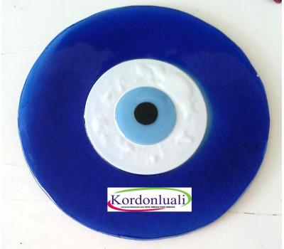 Nazar Boncuğu 30 cm Cam Mavi Göz